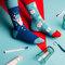 Pre dokonalý a originálny outfit Regular Socks Clean Teeth