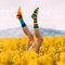 Gift idea Sport Socks Rainbow Stripes