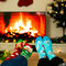 Original gift Good Mood Warm Socks Santa & Rudolph