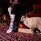 für ein vollkommenes und originelles Outfit Lustige Socken Harry Potter ™ - Schwarz und weiß
