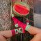 Kedvezmény Vidám zokni Vörös dinnye