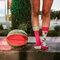 a tökéletes és egyedi ruházathoz Vidám zokni Vörös dinnye