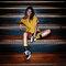 Lifestyle foto Veselé ponožky Světlo