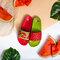 Lifestyle foto Veselé šľapky Červený melón