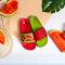Potešte sa týmto kúskom Dedoles Veselé šľapky Červený melón