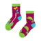 pro dokonalý a originální outfit Dětské veselé ponožky Chameleón