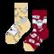 Lifestyle foto Detské veselé ponožky Harry Potter ™ List z Rokfortu