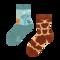 Sleva Dětské veselé ponožky Žirafa