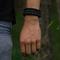 Pre dokonalý a originálny outfit Zwarte Paracord-armband Salvadora met vuurstarter, kompas en fluitje