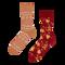 ОТСТЪПКА Топли весели чорапи Свят на меденки