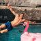 Original gift Swim Shorts Night Flamingo