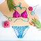 Potešte sa týmto kúskom Dedoles Wesoły dół od bikini — Motyw aztecki