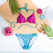 Lifestyle photo Triangle Bikini Top Aztec
