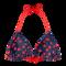 Hľadáte originálny a nezvyčajný darček? Obdarovaného zaručene prekvapí Wesoły trójkątny top od bikini — Wisienki