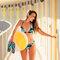 Výpredaj Haut de bikini triangulaire rigolo - Sous-marin