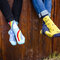 Looking for an original and unusual gift? The gifted person will surely surprise with Good Mood Regular Socks Rainbow