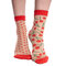 Looking for an original and unusual gift? The gifted person will surely surprise with Nylon Socks Cherries & Dots