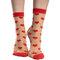 Pre dokonalý a originálny outfit Nylon Socks Red Hearts