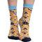 Tip na darček Veselé silonkové ponožky Folkové ornamenty