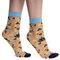 Výnimočný darček od Dedoles Veselé silonkové ponožky Folkové ornamenty