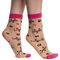 Zľava Vrolijke nylon sokken Miauw