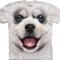 Pomysły na prezenty White T-shirt Siberian Husky Puppy
