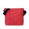 Zľava Crossbody červená taška s bodkami