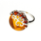 Lifestyle foto Strieborný prsteň s jantárom Sila prírody