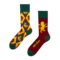 Foto Lustige Socken Harry Potter ™ - Gryffindor vs. Slytherin