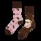 Pre dokonalý a originálny outfit Good Mood Regular Socks Hedgehog