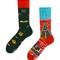 Pre dokonalý a originálny outfit Many Mornings socks Route 66