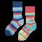 Pre dokonalý a originálny outfit Good Mood Socks Live Love Laught