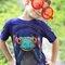 Výnimočný darček od Dedoles Tričko Žaba so slúchadlami - detské