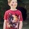 Potěšte se tímto kouskem Dedoles Tričko Indiánské symboly - dětské