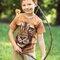 Pre dokonalý a originálny outfit Tričko Lev bojovník - detské