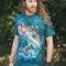 Geschenktipp T-Shirt Fisch auf der Jagd
