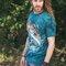 Foto T-Shirt Fisch auf der Jagd