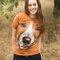für ein vollkommenes und originelles Outfit T-Shirt Gesicht Jack Russell Terrier