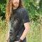 Foto T-Shirt Schwarzer Labrador Gesicht