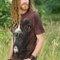 Lifestyle-Foto T-Shirt Boxerhund
