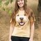Foto T-Shirt Golden Retriever Welpe