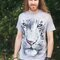 pentru outfit-ul perfect White Tiger Face Adult