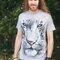 Pre dokonalý a originálny outfit White Tiger Face Adult
