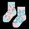 Lifestyle-Foto Lustige Kinder Socken Einhorn