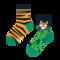 Ajándék tipp Gyermek vidám zokni Tigris