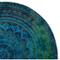 für ein vollkommenes und originelles Outfit Rundes StrandtuchRosige Mandala