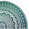 Tip na darček Bavlnená mandala Morská zelená