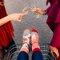 Obrázok produktu Vrolijke sokken Champagne met aardbeien