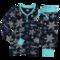 Pre dokonalý a originálny outfit Dámske Dvojdielne termo pyžamo Vločky