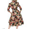 Lifestyle foto Retro pin up šaty s rukávom Letná lúka
